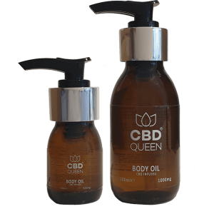 CBD Infused Body Oil – Max Strength