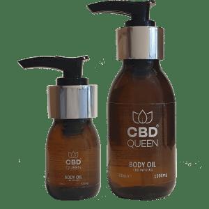 CBD Infused Body Oil – Max Strength