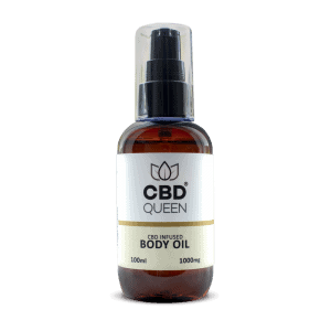 CBD Infused Body Oil - 1000mg