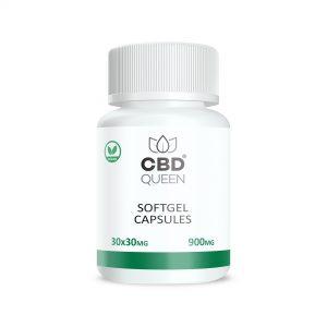 CBD Soft Gel Capsules - 900mg